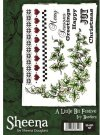 A Little Bit Festive Stamp Set - Ivy Borders by Sheena Douglass