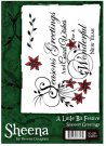 A Little Bit Festive Stamp Set - Seasons Greetings by Sheena Douglass