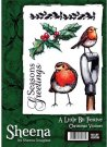 A Little Bit Festive Stamp Set - Christmas Visitors by Sheena Douglass