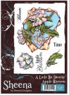 Sheena Douglass A Little Bit Sketchy A6 Unmounted Rubber Stamp - Apple Blossom