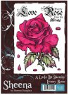 A Little Bit Sketchy Stamp Set - Every Rose by Sheena Douglass