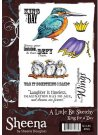 A Little Bit Sketchy Stamp Set - King For A Day by Sheena Douglass