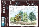 Sheena Douglass A Little Bit Sketchy A6 Unmounted Rubber Stamp - Rural Landscape