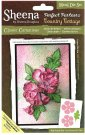Crafters Companion Sheena Douglass Perfect Partners Country Cottage Metal Dies - Classic Carnations