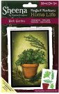 Crafters Companion Sheena Douglass Perfect Partner Home Life Metal Dies - Herb Garden