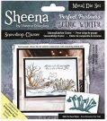 Sheena Douglass Perfect Partner Scenic Winter Dies - Snowdrop Cluster