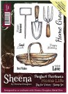 Sheena Douglass Perfect Partners Home Life A6 Unmounted Rubber Stamps - Dig for Victory