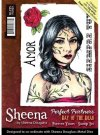 Sheena Douglass Perfect Partners Day of the Dead A6 Unmounted Rubber Stamp - Forever Yours