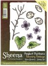 Sheena Douglass Perfect Partners Country Cottage A6 Unmounted Rubber Stamp - Plain Honesty