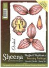 Sheena Douglass Perfect Partners Country Cottage A6 Unmounted Rubber Stamp - Graceful Orchid
