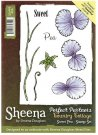 Sheena Douglass Perfect Partners Country Cottage A6 Unmounted Rubber Stamp - Sweet Pea
