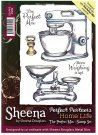 Sheena Douglass Perfect Partners Home Life A6 Unmounted Rubber Stamps - The Perfect Mix