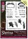 Sheena Douglass Perfect Partners Home Life A6 Unmounted Rubber Stamps - Sown with Love