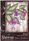Sheena Douglass Sheena Douglass Paint Fusion A6 Unmounted Rubber Stamp - Fuchsia
