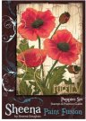 Sheena Douglass Sheena Douglass Paint Fusion A6 Unmounted Rubber Stamp - Poppies