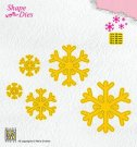 Nellies Choice Shape Dies - Snowflakes