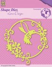 Nellies Choice Shape Die - Summer Hummingbird