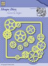Nellies Choice Shape Die - Gears