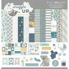 "PhotoPlay 12""x12"" Collection Pack - Snuggle Up Boy (13 sheets)"