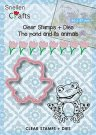 Nellies Choice Stamps & Dies - The Pond Animals Frog