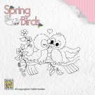 Nellies Choice Clear Stamps - Spring Birds Spring Love