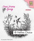 Nellies Choice Clearstamps - Spring Is In The Air