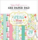 "Echo Park 6""x6"" Paper Pad - Spring Fling (24 sheets)"