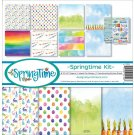 "Reminisce Collection Kit 12""x12"" - Springtime (9 sheets)"