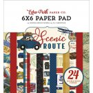 "Echo Park 6""x6"" Double-Sided Paper Pad - Scenic Route (24 sheets)"