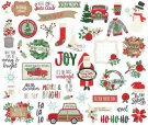 Simple Stories Die-Cuts - Merry & Bright Bits & Pieces (45 pack)