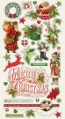 "Simple Stories 6""x12"" Chipboard Stickers - Simple Vintage Christmas"