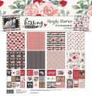 "Simple Stories 12""x12"" Collection KIt - Kissing Booth (107 pieces)"