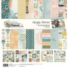 "Simple Stories 12""x12"" Collection Kit - Simple Vintage Traveler (70 pieces)"