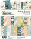 "Simple Stories 6""x8"" Paper Pad - Simple Vintage Traveler (24 sheets)"