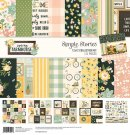 "Simple Stories 12""x12"" Collection Kit - Spring Farmhouse (111 pieces)"
