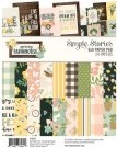 "Simple Stories 6""x8"" Paper Pad - Spring Farmhouse (24 sheets)"