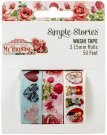 Simple Stories Simple Vintage Washi Tape - My Valentine (3 pack)