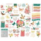 Simple Stories Vintage Garden District Bits & Pieces Die-Cuts (39 pack)