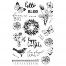 Simple Stories Photopolymer Clear Stamps - Simple Vintage Garden District