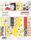 "Simple Stories 6""x8"" Double-Sided Paper Pad - Summer Farmhouse (24 sheets)"