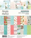 "Simple Stories 6""x8"" Double-Sided Paper Pad - Simple Vintage Coastal (24 sheets)"