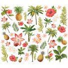 Simple Vintage Coastal Bits & Pieces Die-Cuts - Floral (43 pack)