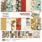 "Simple Stories 12""x12"" Collection Kit - Simple Vintage Ancestry (13 sheets)"