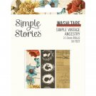 Simple Stories Simple Vintage Ancestry Washi Tape (3 pack)