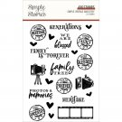 Simple Stories Photopolymer Clear Stamps - Vintage Ancestry