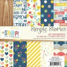 "Simple Stories 6""x6"" Paper Pad - Life Documented (24 sheets)"