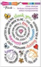 Stampendous Perfectly Clear Stamps - Circular Messages