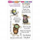 Stampendous House Mouse Clear Stamps - Masked Mice