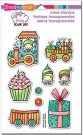 Stampendous Clear Stamp Set - Whisper Happy Wagon