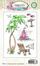 Studio Light A6 Clearstamp Set - Romantic Summer 144